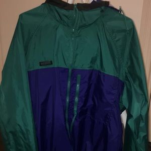 COLUMBIA windbreaker vintage raincoat jacket!!!